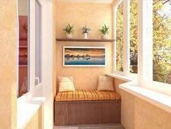 Внутренняя отделка балконов и лоджий в Миассе