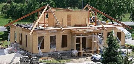 дом из деревянного каркаса г.Миасс